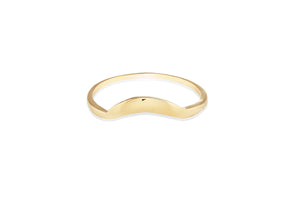 Sunrise Contour Stacking Ring