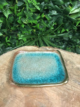 Blue Rectangle Trinket Dish