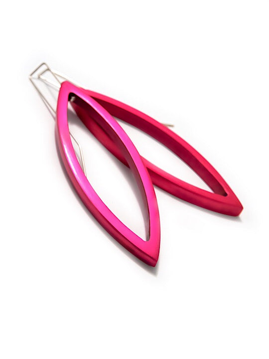 Large Navette Drop Earrings - The Collective Dublin