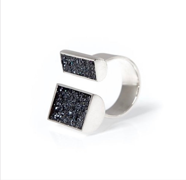 Urban Geode Asymmetric Ring - The Collective Dublin