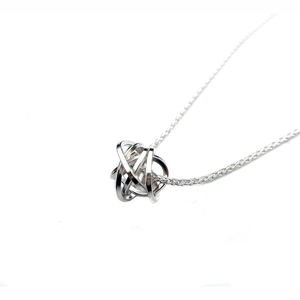 Knot Pendant Silver