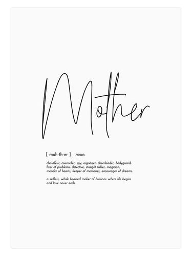 MOTHER PRINT