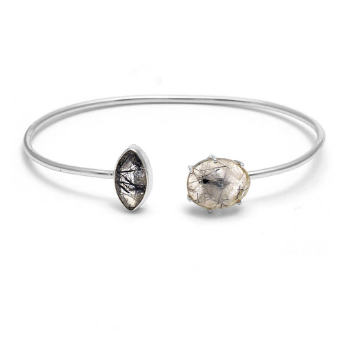 Tourmulated quartz bracelet - The Collective Dublin