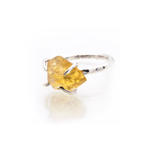 The Citrine Rock Ring
