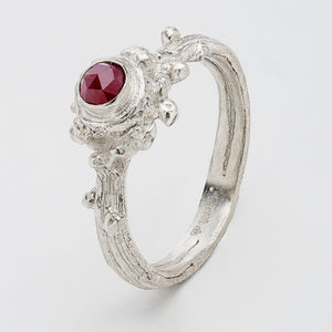 Wild Woods Ring Raw Ruby