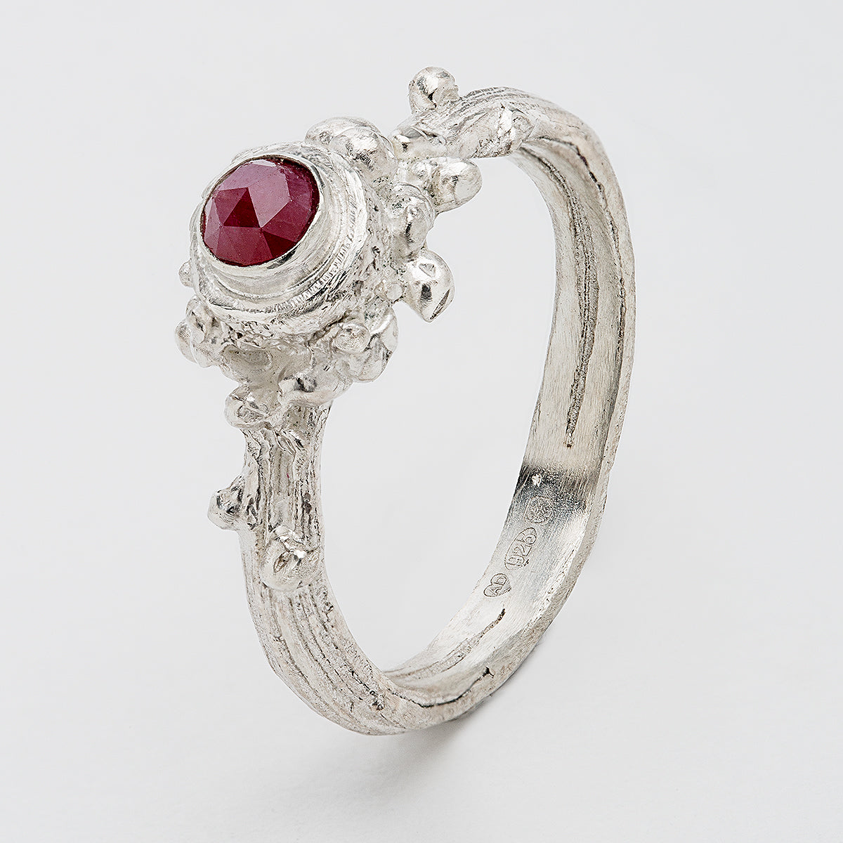 Wild Woods Ring Raw Ruby - The Collective Dublin