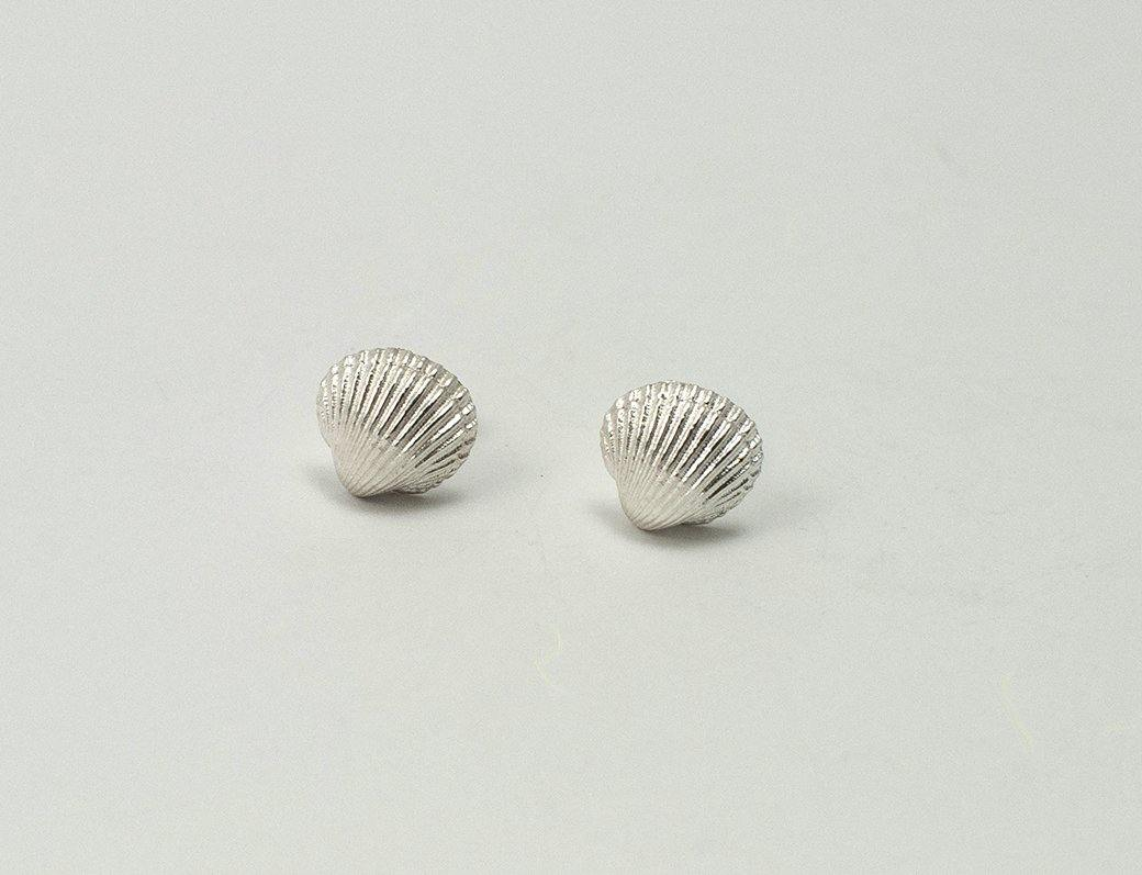 Cockle shell earrings - The Collective Dublin