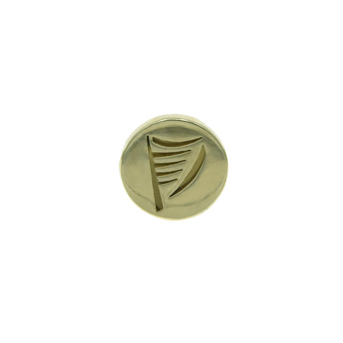 Harp lapel pin - The Collective Dublin