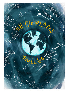 OH THE PLACES PRINT