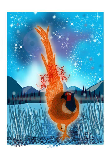 Pheasant Print - The Collective Dublin