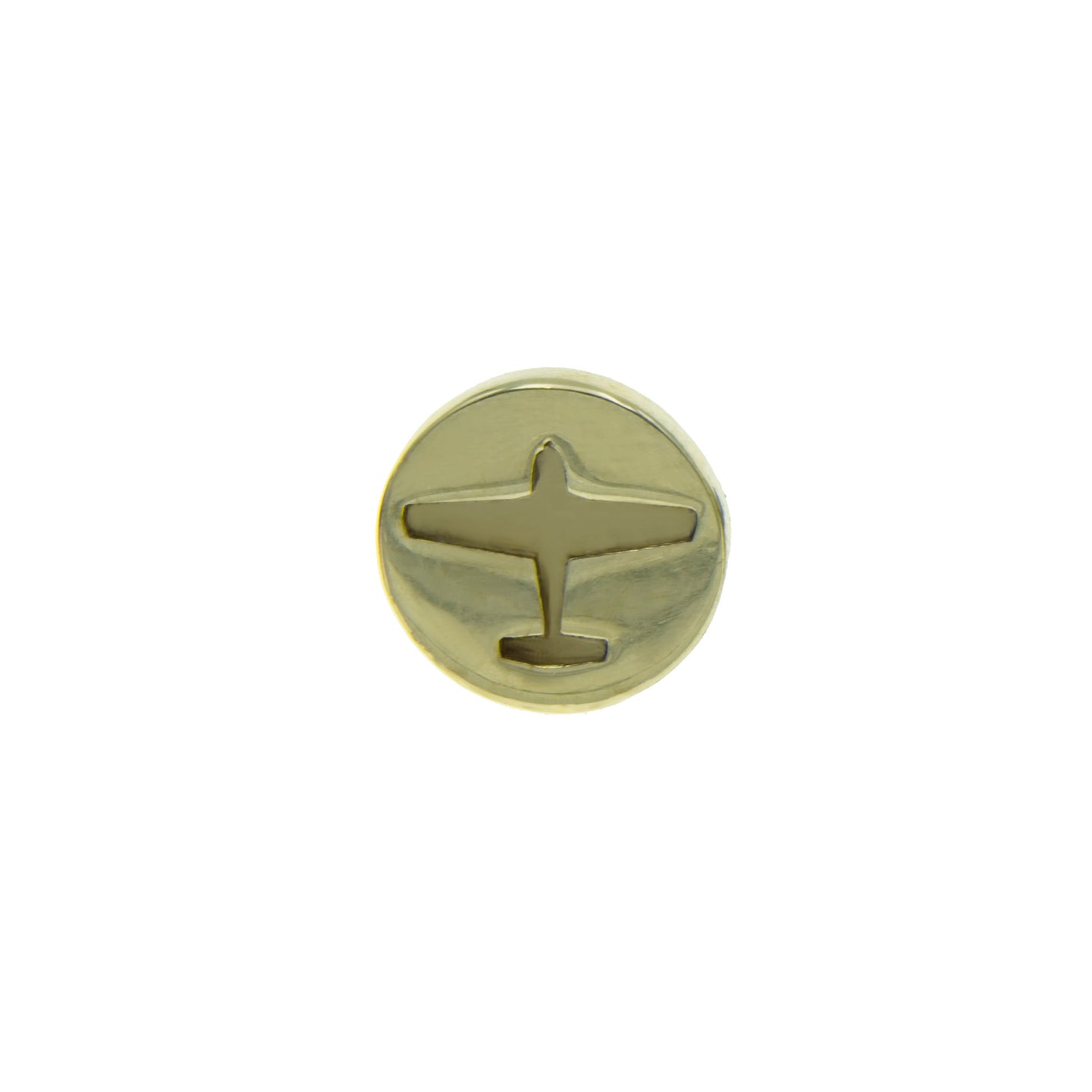 Plane lapel pin - The Collective Dublin