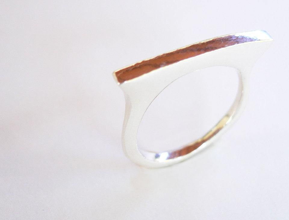 Stacking ring in sterling silver - The Collective Dublin