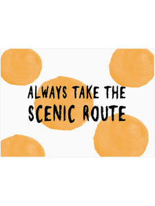 THE SCENIC ROUTE PRINT - The Collective Dublin