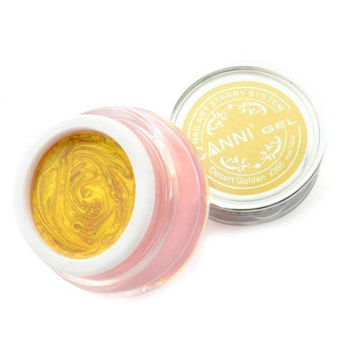 Canni Starry Gel 366 Desert Golden 10ml-Νύχια-Canni-IKONOMAKIS