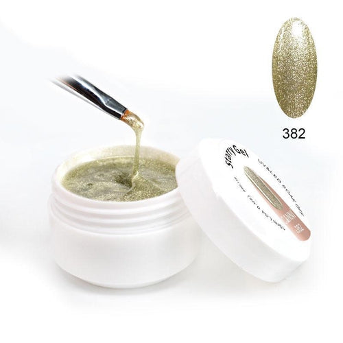 Canni Starry Gel 382 Champagne Gold 15ml-Νύχια-Canni-IKONOMAKIS