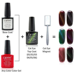 Canni Top Coat Cateye 06 Gold 7.3ml-Νύχια-Canni-IKONOMAKIS