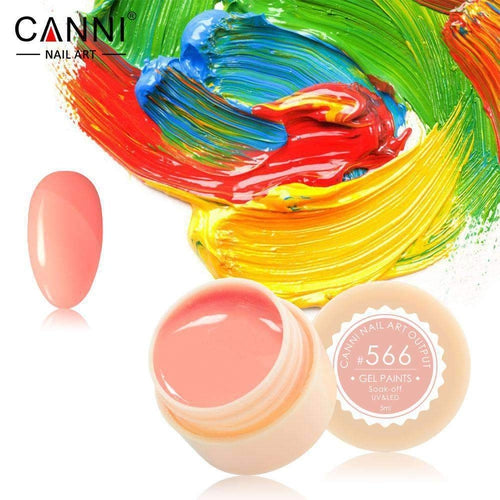 Canni UV Led Paint Gel 566 5ml-Νύχια-Canni-IKONOMAKIS
