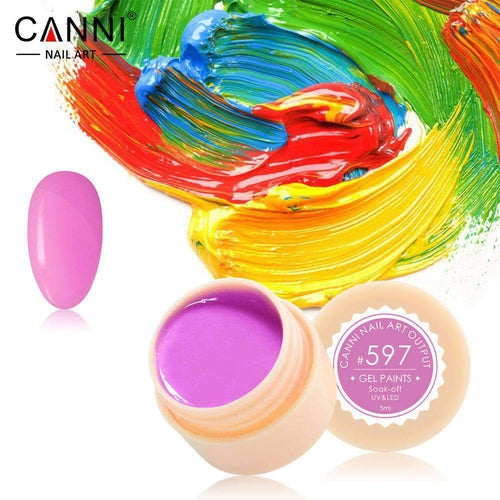 Canni UV Led Paint Gel 597 5ml-Νύχια-Canni-IKONOMAKIS