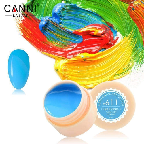 Canni UV Led Paint Gel 611 5ml-Νύχια-Canni-IKONOMAKIS