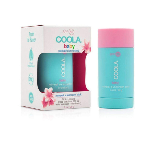 Coola Mineral Baby SPF 50 Stick 29gr-Face-Coola-IKONOMAKIS