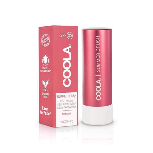 Coola SPF 30 Lip Balm Summer Crush Minty Rose 4.2g-Face-Coola-IKONOMAKIS