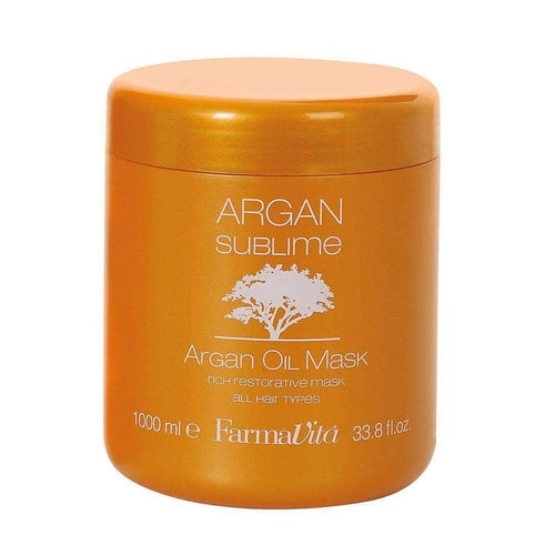 Farmavita Argan Sublime Mask 1000ml-Μαλλιά-FarmaVita-IKONOMAKIS