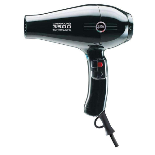 GammaPiu Hair Dryer 3500 Tormalionic (Black)-Styling tools-Gamma Piu-IKONOMAKIS