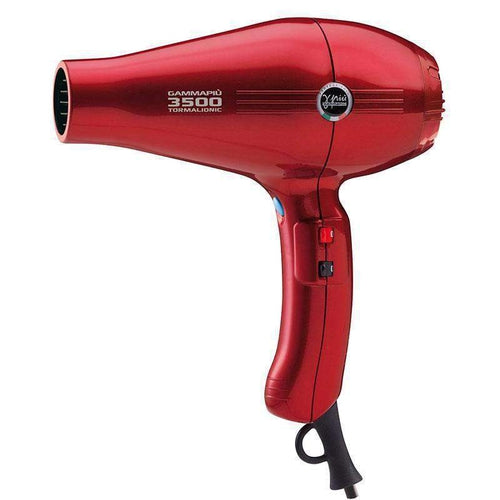 GammaPiu Hair Dryer 3500 Tormalionic (Red)-Styling tools-Gamma Piu-IKONOMAKIS