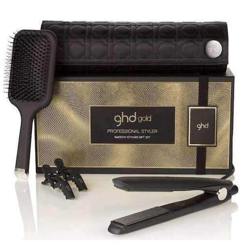 ghd Gold Hair Straighteners Smooth Styling Gift Set-Styling tools-ghd-IKONOMAKIS