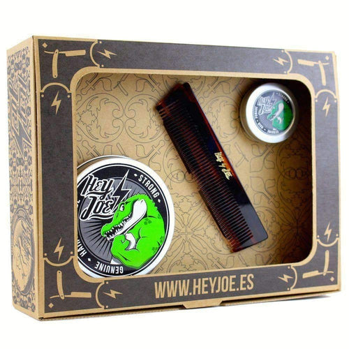 Hey Joe Survival Kit Strong (pomade strong 100ml, pomade strong mini 15ml, χτένα deluxe comb)-Άντρες-Hey Joe-IKONOMAKIS