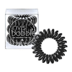 Invisibobble Traceless Hair Ring - True Black-Invisibobble-Invisibobble-IKONOMAKIS