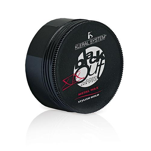 Kleral Black Out Metal Wax Styling Hold 100ml-Μαλλιά-Kleral-IKONOMAKIS