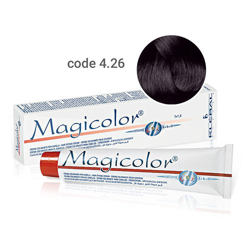 Kleral Magicolor Hair Dyeing Cream 4.26 100ml-Μαλλιά-Kleral-IKONOMAKIS
