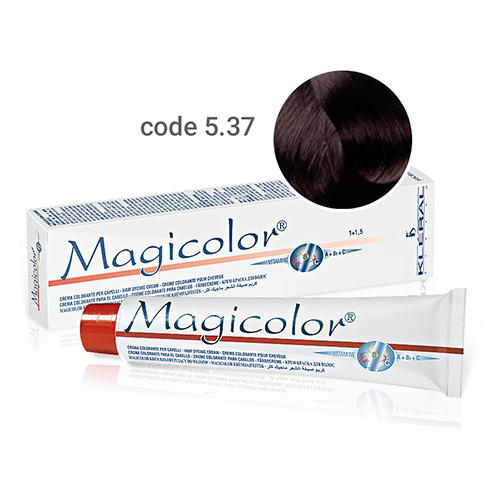 Kleral Magicolor Hair Dyeing Cream 5.37 100ml-Μαλλιά-Kleral-IKONOMAKIS