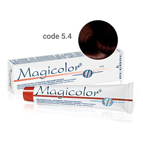Kleral Magicolor Hair Dyeing Cream 5.4 100ml-Μαλλιά-Kleral-IKONOMAKIS