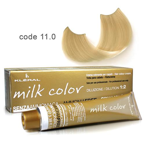 Kleral Milk Color Ammonia Free Colouring Cream 11.0 100ml-Μαλλιά-Kleral-IKONOMAKIS