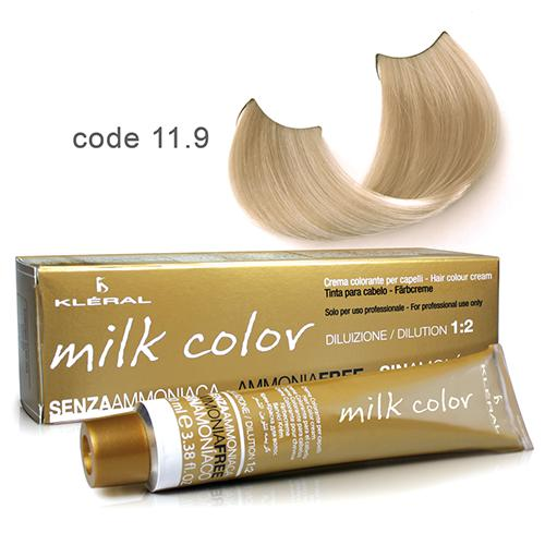 Kleral Milk Color Ammonia Free Colouring Cream 11.9 100ml-Μαλλιά-Kleral-IKONOMAKIS