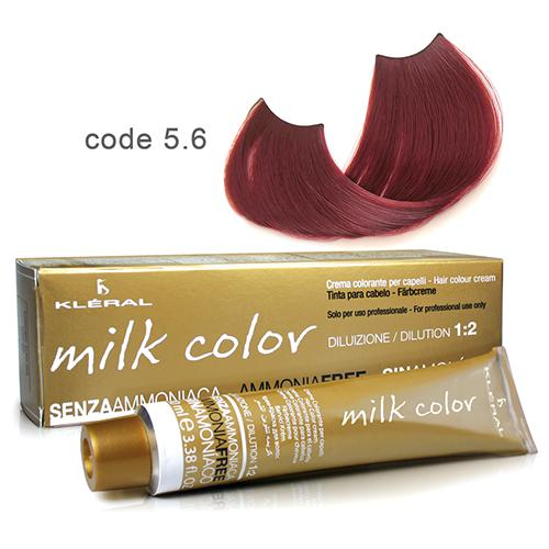 Kleral Milk Color Ammonia Free Colouring Cream 5.6 100ml-Μαλλιά-Kleral-IKONOMAKIS