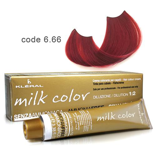 Kleral Milk Color Ammonia Free Colouring Cream 6.66 100ml-Μαλλιά-Kleral-IKONOMAKIS