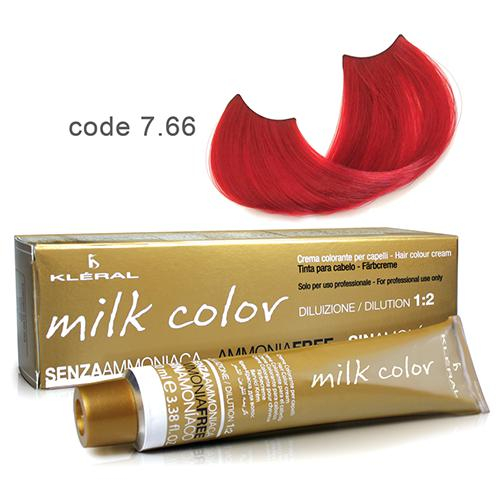 Kleral Milk Color Ammonia Free Colouring Cream 7.66 100ml-Μαλλιά-Kleral-IKONOMAKIS