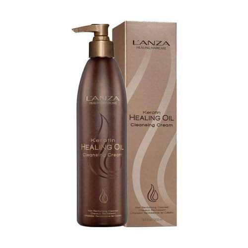 Lanza Keratin Healing Oil Cleansing Cream 300ml-Μαλλιά-Lanza-IKONOMAKIS