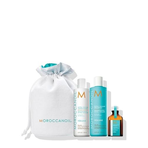 Moroccanoil Beauty in Bloom Volume Set (Σαμπουάν 250ml, Conditioner 250ml, Moroccanoil Treatment Light 25 ml)-Μαλλιά-Moroccanoil-IKONOMAKIS