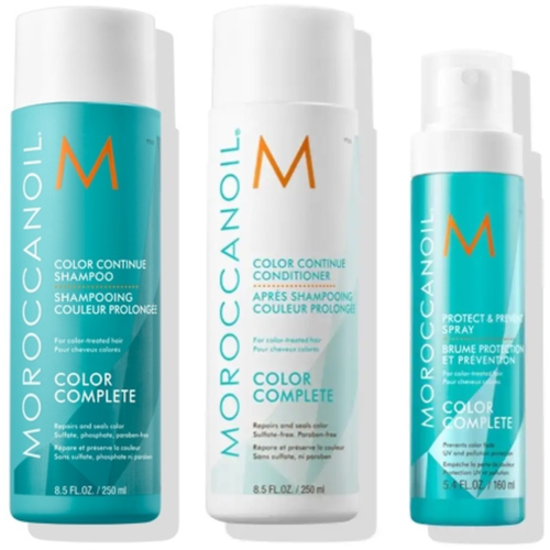 Moroccanoil Complete Your Color Set (Shampoo 250ml, Conditioner 250ml) Δώρο Spray 160ml + Treatment 25 ml-Μαλλιά-Moroccanoil-IKONOMAKIS