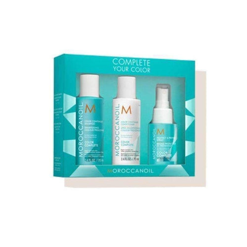 Moroccanoil Complete Your Color Set (shampoo 70ml, conditioner 70ml, spray 50ml)-Μαλλιά-Moroccanoil-IKONOMAKIS