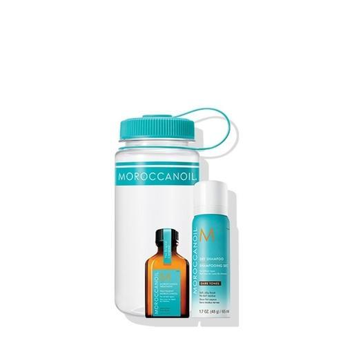 Moroccanoil Gym Refresh Kit Dark Tones Set (Dry Shampoo Dark Tones 65ml, Μoroccanoil Treatment 25 ml)-Μαλλιά-Moroccanoil-IKONOMAKIS
