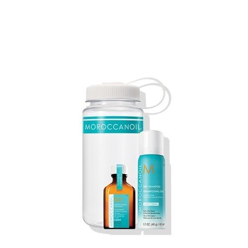 Moroccanoil Gym Refresh Kit Light Tones Set (Dry Shampoo Dark Tones 65ml, Μoroccanoil Treatment Light 25 ml)-Μαλλιά-Moroccanoil-IKONOMAKIS