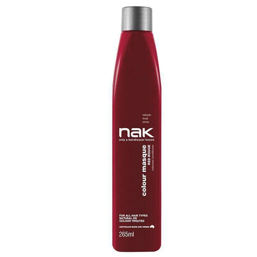 Nak Colour Masque Red Rouge 265ml-Μαλλιά-Nak-IKONOMAKIS