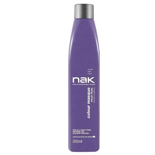 Nak Colour Masque Violet Pearl 265ml-Μαλλιά-Nak-IKONOMAKIS