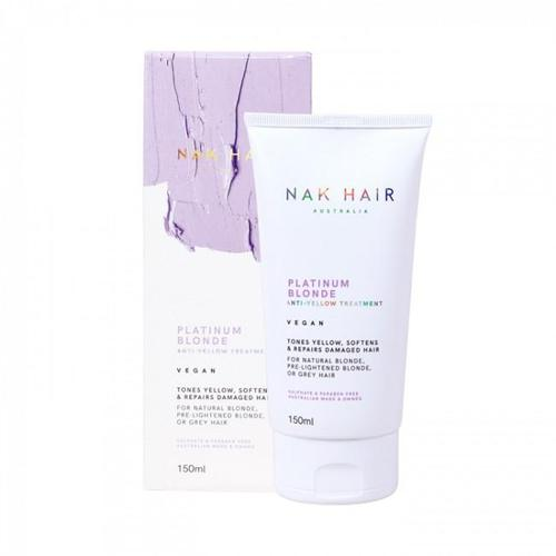 Nak Platinum Blonde Anti-Yellow Treatment 150ml-Μαλλιά-Nak-IKONOMAKIS