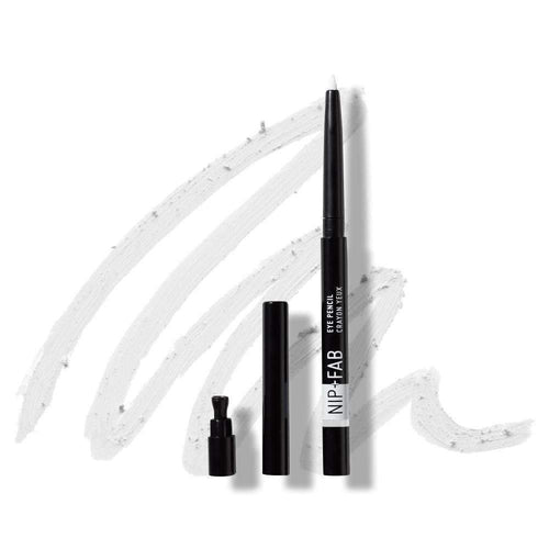 Nip+Fab Eye Pencil White 0.3g-MAKEUP-Nip+FAB-IKONOMAKIS